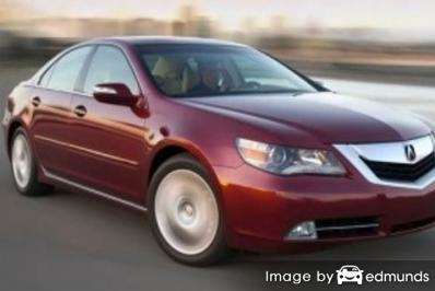 Insurance rates Acura RL in Scottsdale