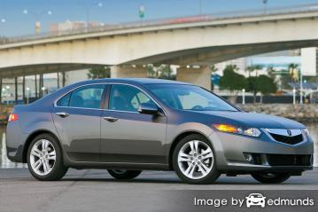 Insurance quote for Acura TSX in Scottsdale