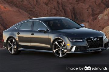 Insurance rates Audi RS7 in Scottsdale