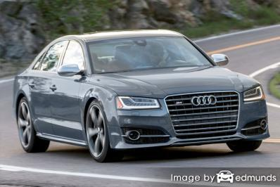 Insurance quote for Audi S8 in Scottsdale