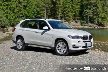 Insurance rates BMW X5 in Scottsdale