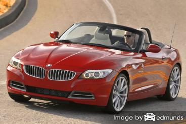 Insurance quote for BMW Z4 in Scottsdale