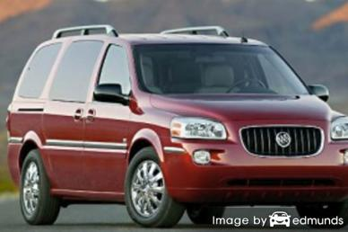 Discount Buick Terraza insurance