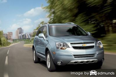 Insurance rates Chevy Captiva Sport in Scottsdale