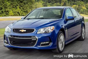 Discount Chevy SS insurance
