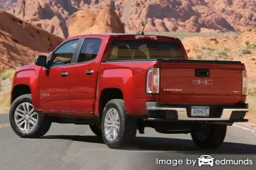 Insurance for GMC Canyon