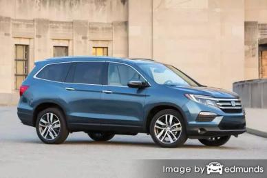 Insurance quote for Honda Pilot in Scottsdale