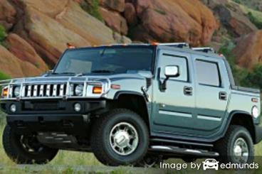 Insurance rates Hummer H2 SUT in Scottsdale