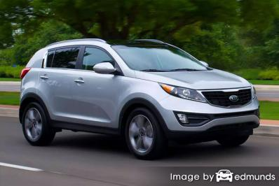 Discount Kia Sportage insurance