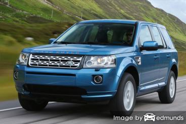 Insurance quote for Land Rover LR2 in Scottsdale