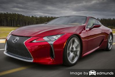 Insurance for Lexus LFA