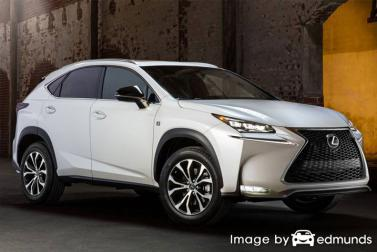 Insurance quote for Lexus NX 200t in Scottsdale