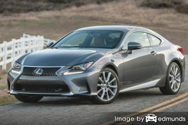 Insurance quote for Lexus RC 300 in Scottsdale