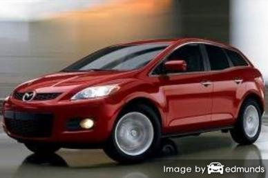 Insurance rates Mazda CX-7 in Scottsdale
