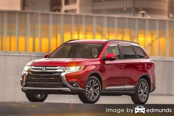 Insurance rates Mitsubishi Outlander in Scottsdale