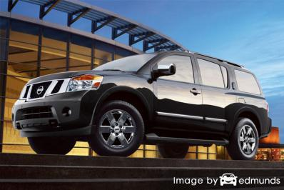 Insurance rates Nissan Armada in Scottsdale