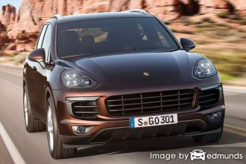 Insurance quote for Porsche Cayenne in Scottsdale