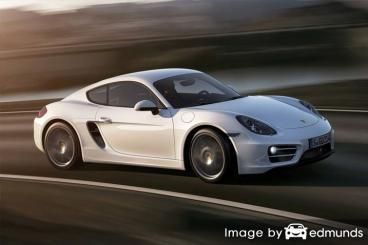 Insurance quote for Porsche Cayman in Scottsdale