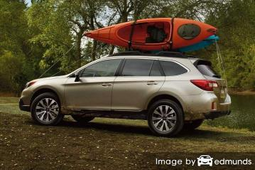 Insurance quote for Subaru Outback in Scottsdale