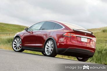 Insurance quote for Tesla Model X in Scottsdale