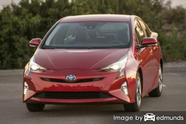 Insurance quote for Toyota Prius in Scottsdale
